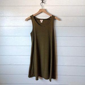 Mossimo Striped Swing Tank Dress
